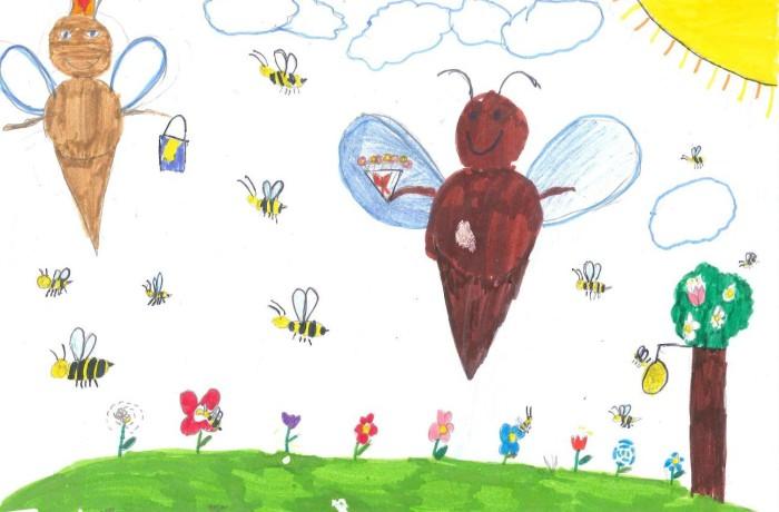 L'ape Regina ed il Re