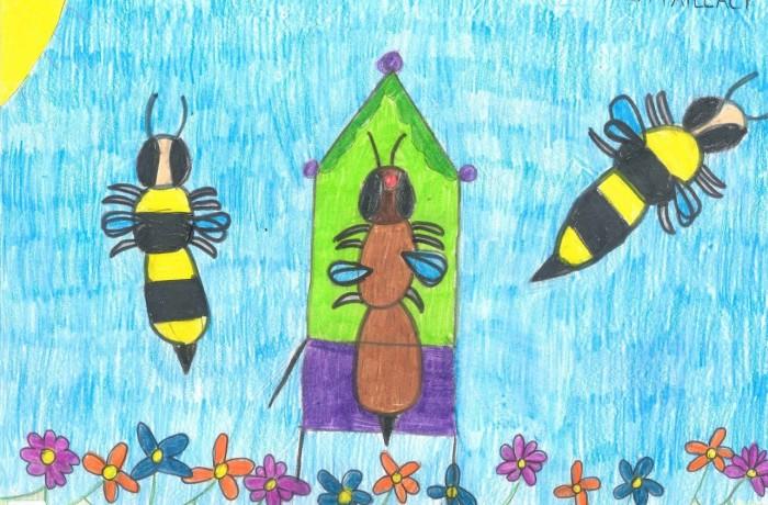 L'ape seduta sul trono