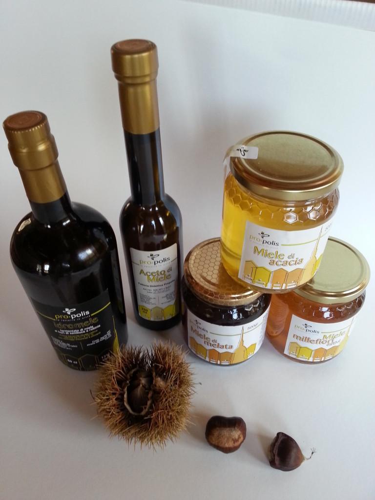 I prodotti delle api